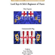ECW/PAR/001 Lord Saye & Sele's Regiment of Foote First Captain