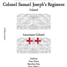 ECW/PAR/011 (C) Colonel Samuel Joseph's Regiment of Foote Colon