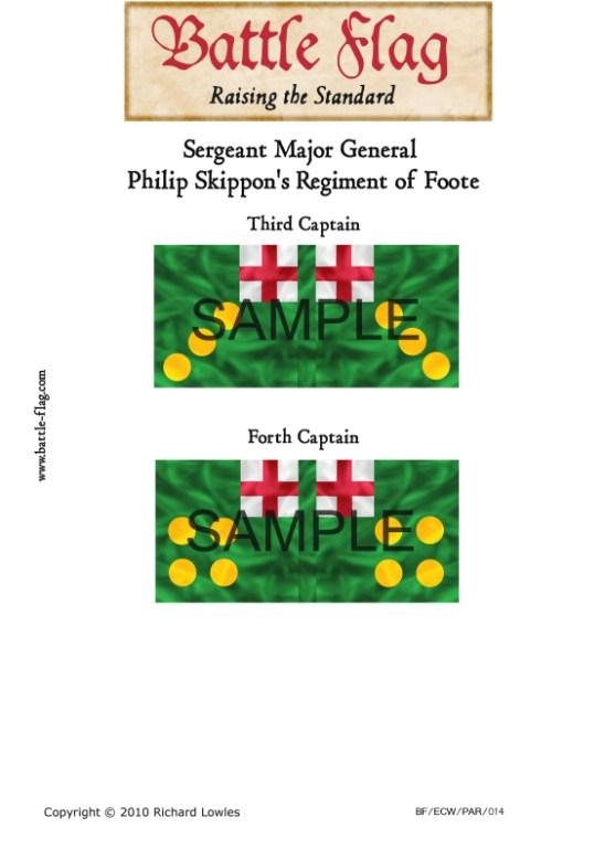 ECW/PAR/014 (C) Sergeant Major General Skippon's Regiment of Foo