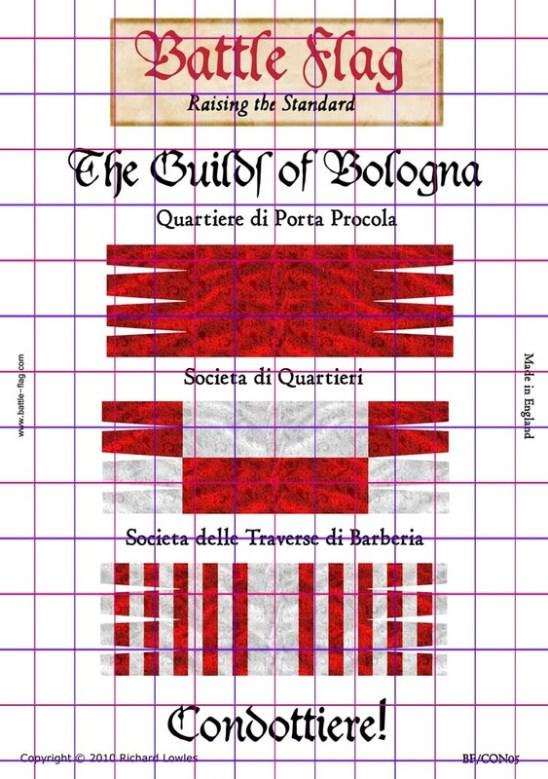 BF/CON05 Bologna Guilds Plate II