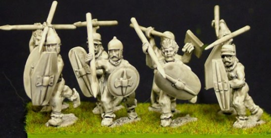 28mm Celt or Gallic Trousered warriors