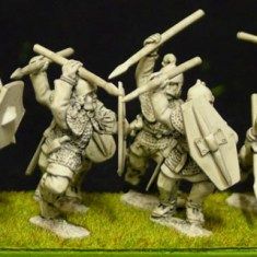 28mm celt or gaul Noble warriors (a) with javelins