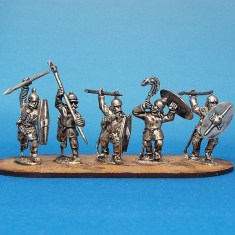 28mm celt gallic warriors