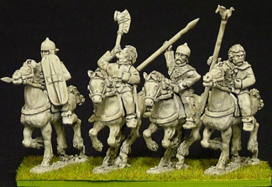 28mm Celt & Gaul Cavalry Command