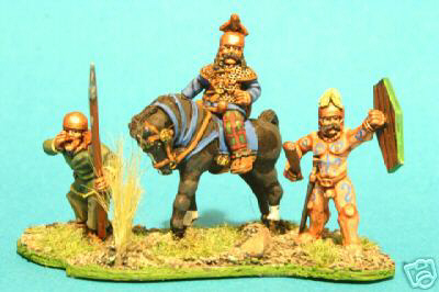 Celtic Gallic Mounted Chieftain