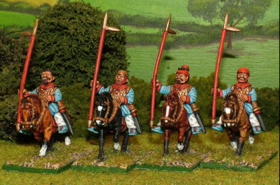 CH07 Cavalry with Halberd.