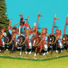CHP02 Cavalry with Halberds and Swords.