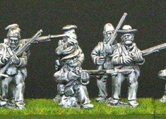 British firing line