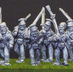 British marching