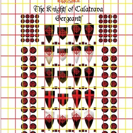 The Order of Calatrava Infantry (Damaged)