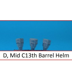Mid 13th Century Barrel helm
