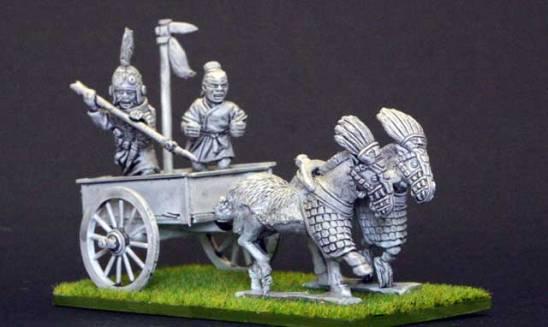 EC13b Shang 2 horse chariot.