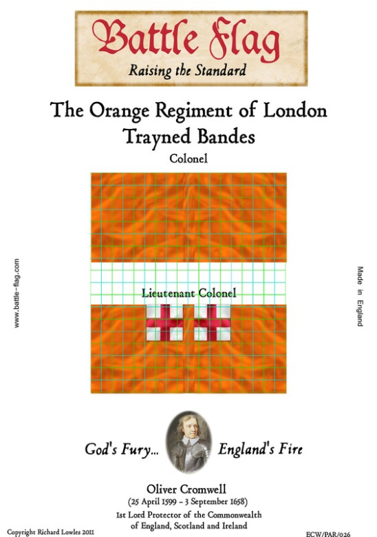 ECW/PAR/026(A) The Orange Regiment of London