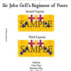 ECW/PAR/017 (A) Sir John Gell's Regiment of Foote