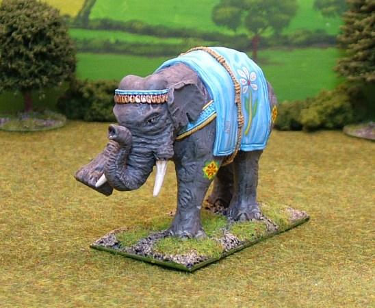 EL, A. Indian Elephant