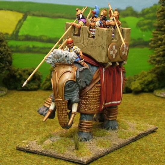 EL, I. Armoured Indian Elephant
