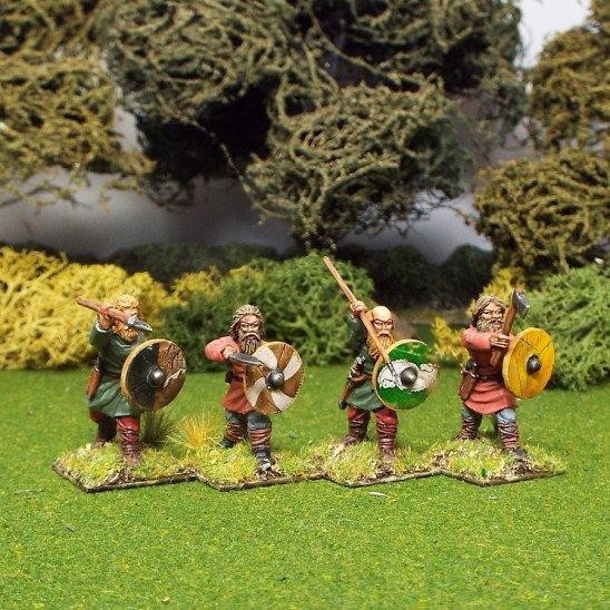 28mm early saxon duguth warriors