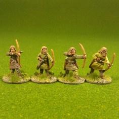 Archers, bareheaded. (4)