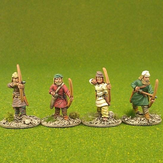 Archers, caps. (4)