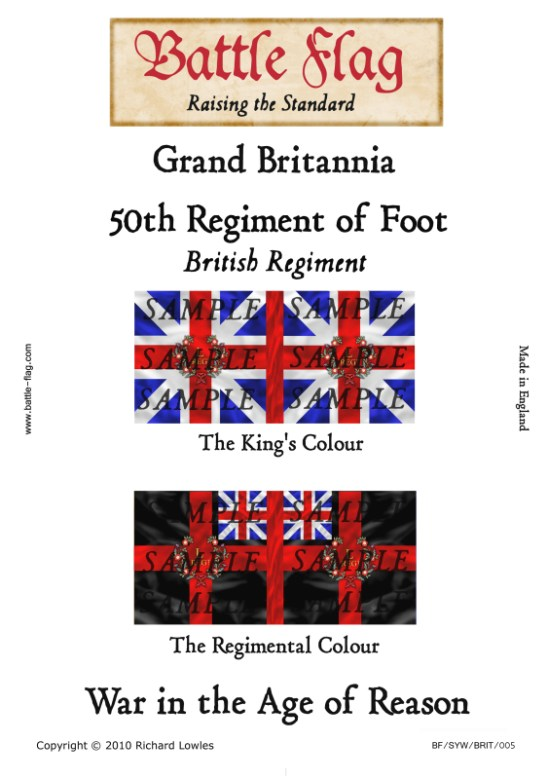 GB5: 50th Regiment of Foot