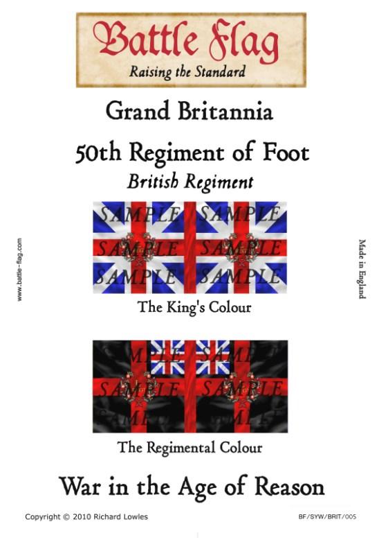 GB5: 50th Regiment of Foot