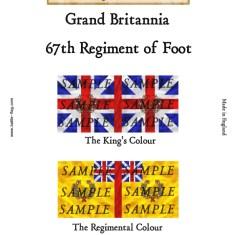 GB7: 67th Regiment of Foot