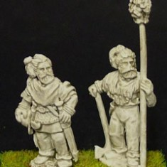 28mm germanic Chieftain