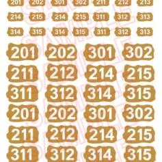 German Numbers 1 Sand