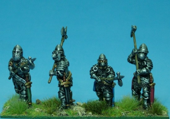 28mm late medieval Dismounted knights II