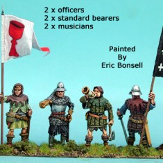 28mm late medieval hussite Infantry Command II