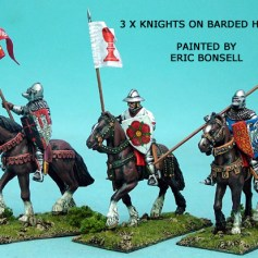 Mounted Knights Unbarded Horses I