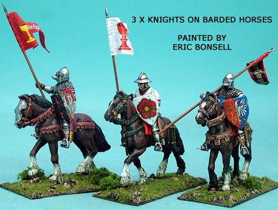 Mounted Knights Unbarded Horses I