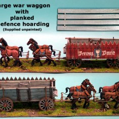 Late Medieval War Wagon & Artillery Packs