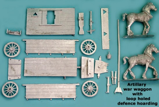 28mm medieval war wagon