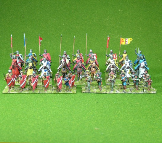 Lion Rampant 24pt Early French Starter Army