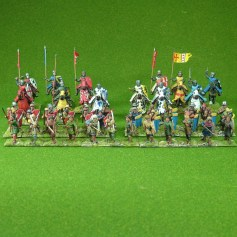 28mm Lion Rampant Medieval Early English 24pt Starter Army