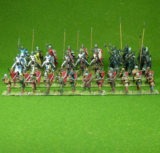 Lion Rampant 24pt Later Crusader Starter Army