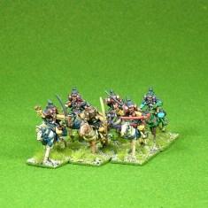 Lion Rampant 24pt Early Samurai Starter Army