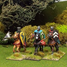 Medieval Mounted Knights/Sergeants.