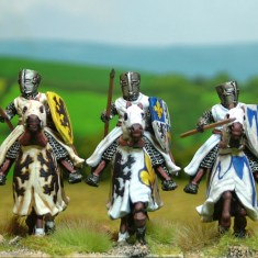 Medieval Mounted Knights and Cavalry
