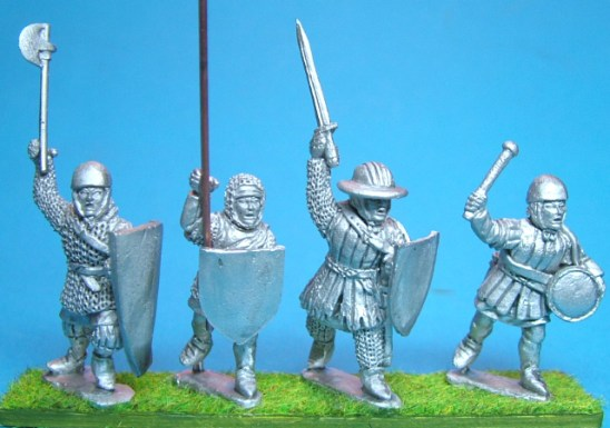 28mm medieval Command 2