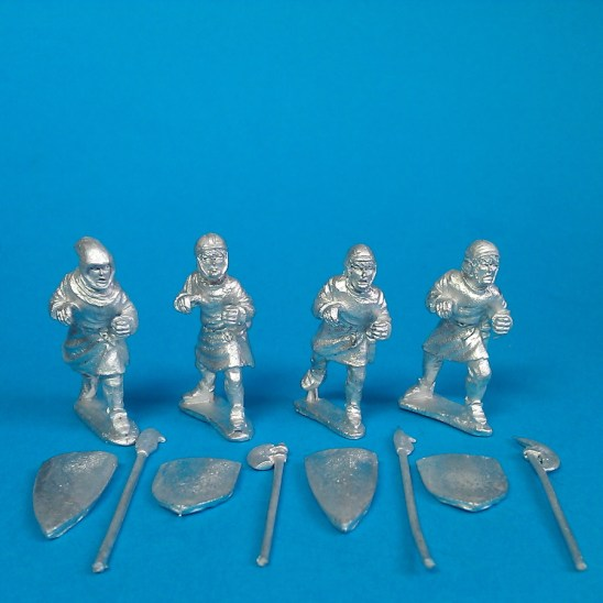 ME64 Polearms 2, Arming caps-hoods