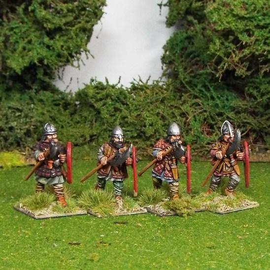 Axemen in Aketon-Gambeson