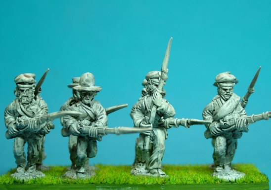 28mm mexican american war United States Infantry advancing or charging