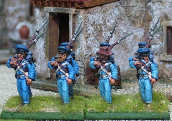 28mm mexican american war United States Infantry marching