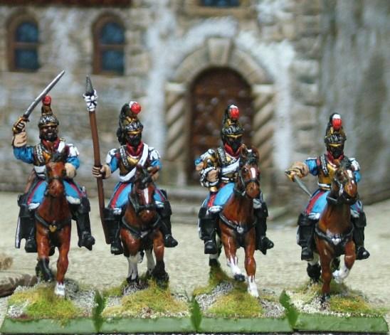 Mexican Cuirassier Command