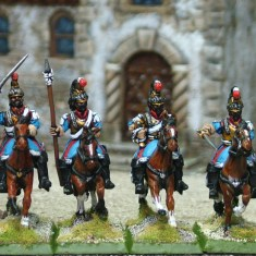 Mexican Cuirassier Command
