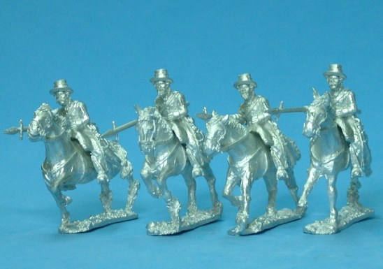 28mm Presidial Cavalry with lance