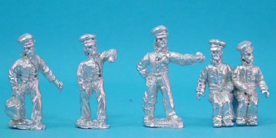 28mm mexican american war US Limber crew at rest.