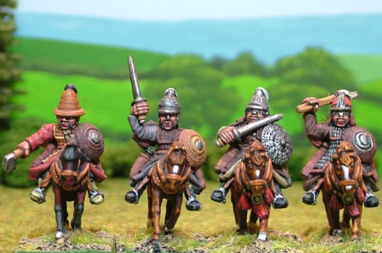 MO17 Heavy cavalry with hand weapons.